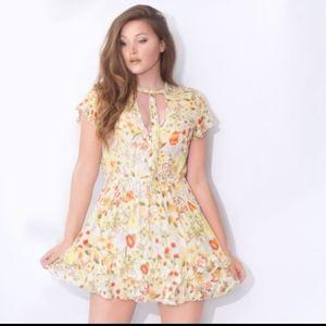 SPELL & GYPSY Sunflower Sayulita Mini Playdress